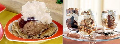 Ice Cream Sundaes Two Ways - Beginner & Expert
