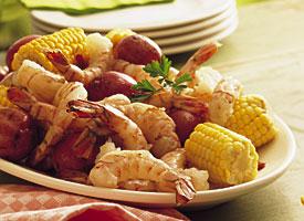 Fast & Easy Dinner: Shrimp, Corn & New Potato Boil