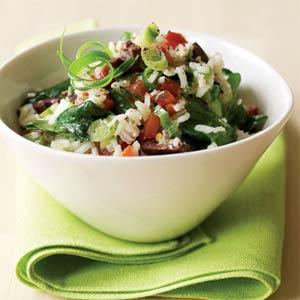 Mediterranean Side: Rice Salad