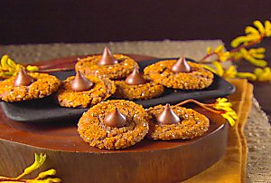 Orange and Black Treat: Witch Hat Cookies