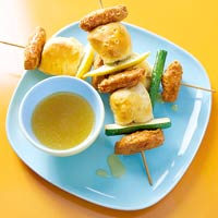 Fast & Easy Dinner: Chicken and Biscuit Kabobs