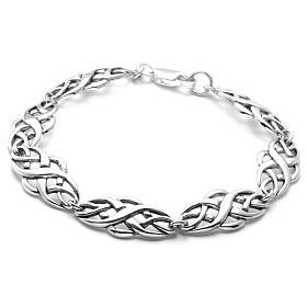 "$49.00: Sterling Silver Celtic Design Bracelet, 8"": Jewelry & Watches"