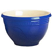 $19.98: Le Creuset Stoneware Mixing Bowl - Blue - 4-5/8 Qt.