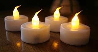 Lil Tip: Faux Flickering Candles