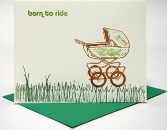 Lil Find: Modern Baby Card
