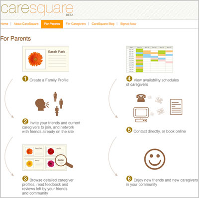Tending to Baby: CareSquare