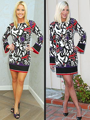 WHO WORE IT BEST: TORI SPELLING OR TARA CONNER