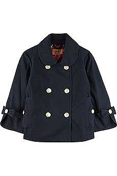 Juicy Couture Cotton peacoat - NET-A-PORTER.COM