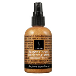 Sunday Giveaway! Sephora SuperStars Super Sheen Bronzing Mist