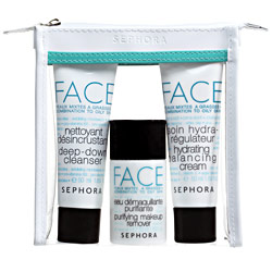 Tuesday Giveaway! Sephora Face Weekend Set for Combination to Oily Skin