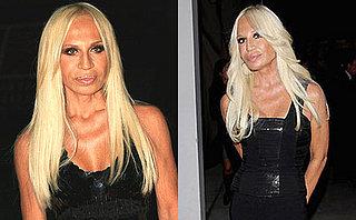 Do You Prefer Donatella Versace's Hair Straight or Wavy?