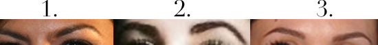 Bella Quiz:  Whose Famous Eyebrows Are These?