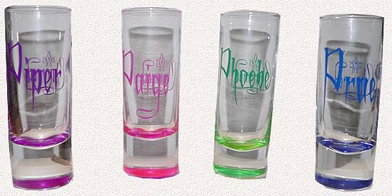Charmed Shot glasses