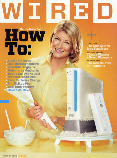 Martha Stewart Geeks Out!