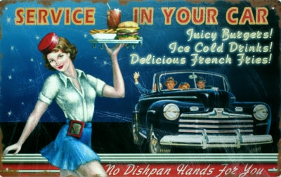 Tin Sign's for the Kitchen