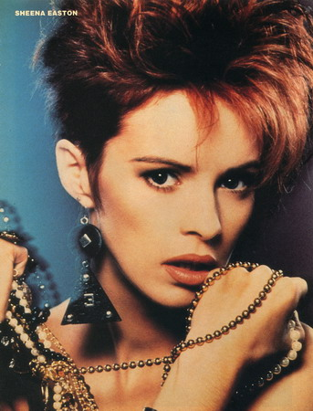 Sheena Easton(Then and Now)