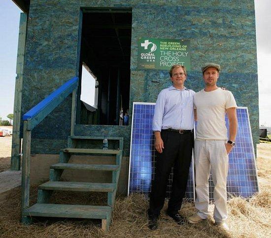 "Casa Verde: How Brad Pitt Is Helping ""Green"" New Orleans"