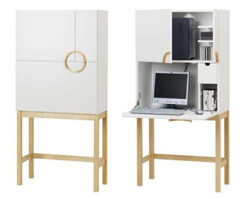 good better best contemporary computer armoires popsugar home. Black Bedroom Furniture Sets. Home Design Ideas
