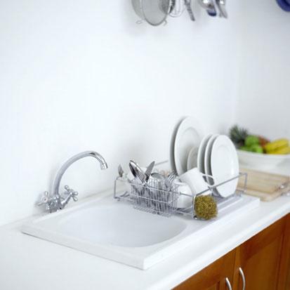 Make Your Kitchen Sink Super-Shiny