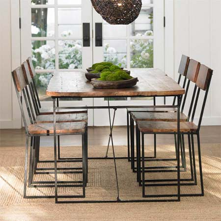 Crave Worthy: VivaTerra Railroad Tie Dining Table