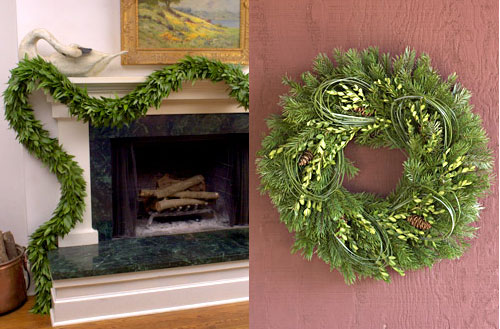 Win an Organic Style Garland and Wreath!