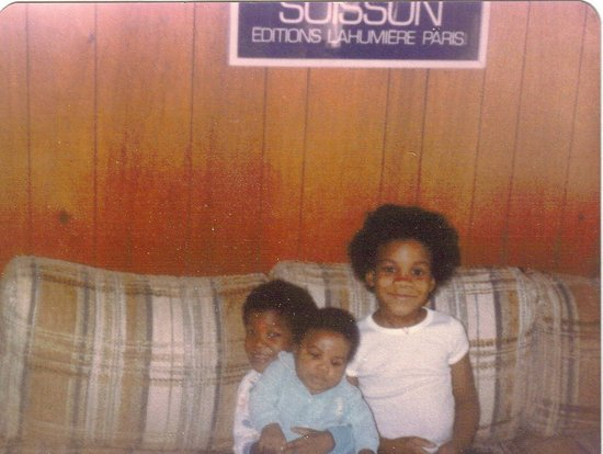 1981 with my brothers