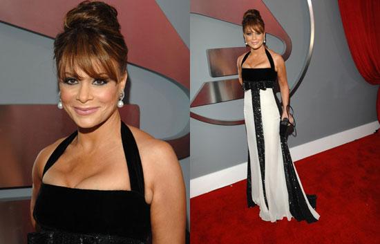 The Grammys Red Carpet: Paula Abdul