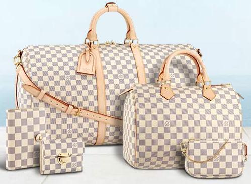 The Luxe Louis Vuitton Damier Azur Collection