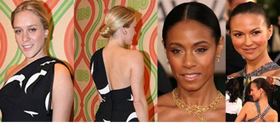 The Golden Globes Red Carpet: The Ballet Bun