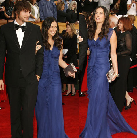 SAG Awards Red Carpet: Demi Moore