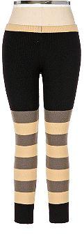 Twinkle by Wenlan Striped Sweater Leggings: Love It or Hate It?