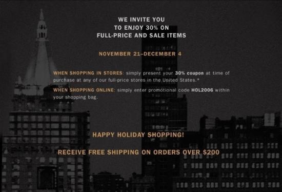 Friends and Family Discounts: Ralph Lauren