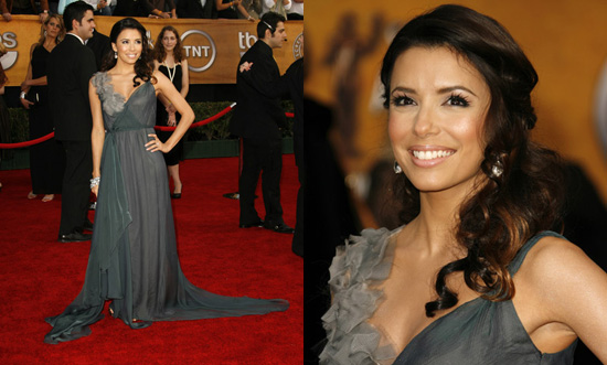SAG Awards Red Carpet: Eva Longoria