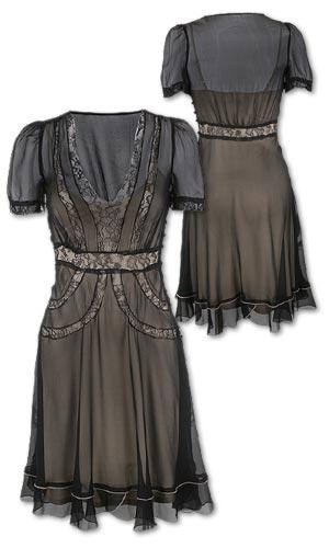 Trend Alert: Romantic Black Lace