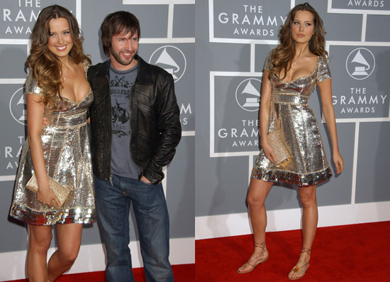 The Grammys Red Carpet: Petra Nemcova