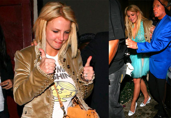 Britney is Loving the Single Life