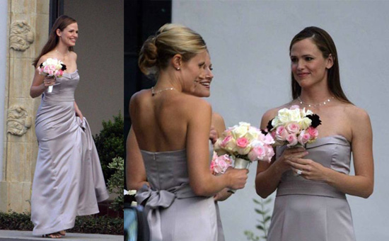 Jennifer as the Celebrity Bridesmaid