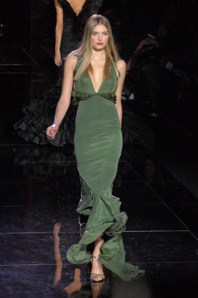 New York Fashion Week, Fall 2007:  Zac Posen
