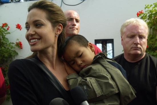 Adoption Community Doesn't Want Angelina As Their Spokesperson