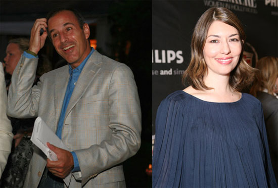 Sugar Bits - Matt Lauer & Sofia Coppola Baby News