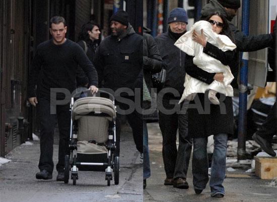 Matt Damon: A-List Family Man