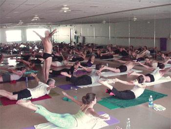 Class Act:  Bikram Yoga – It's Hot