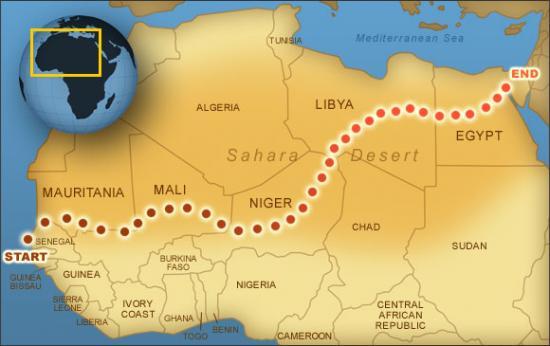 Need Motivation? These Guys Ran Across The Sahara
