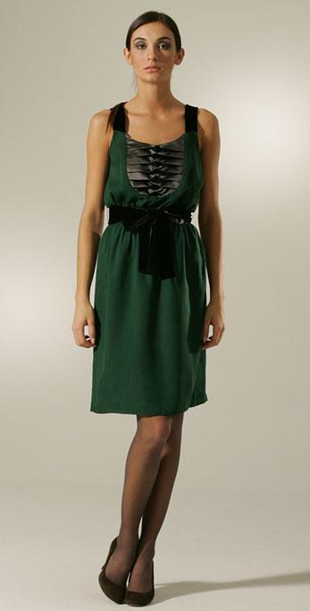 Festive Party Dresses, Part III: Tuxedo-Inspired Dresses
