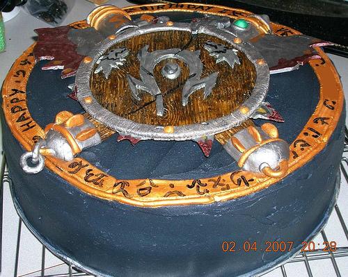 Edible Geek: World of Warcraft Cake