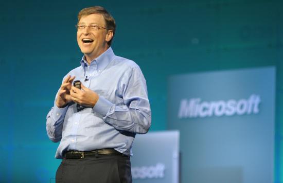 Bill Gates Kicks Off Consumer Electronics Show