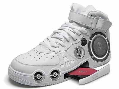 Back To The Future CD-ROM Sneakers