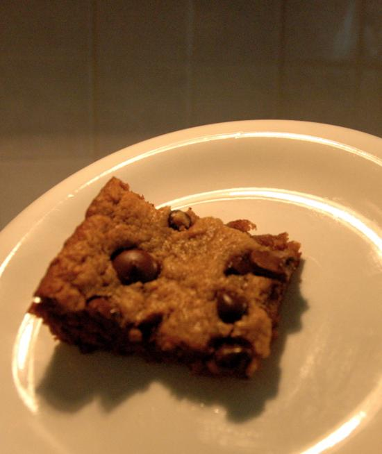 52 Weeks of Baking: Flourless Peanut Butter Bars