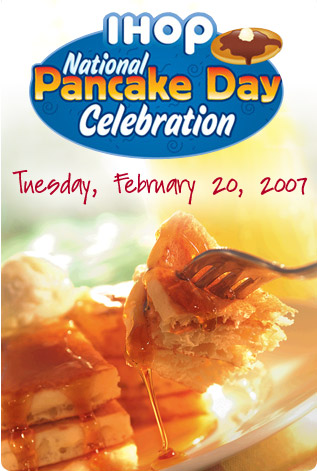 Who Doesn't Love Free Pancakes?