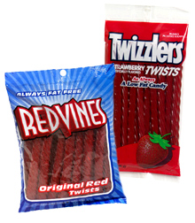 Red Vines or Twizzlers?